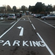 parking bay markings heathrow