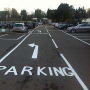 parking bay markings heathrow
