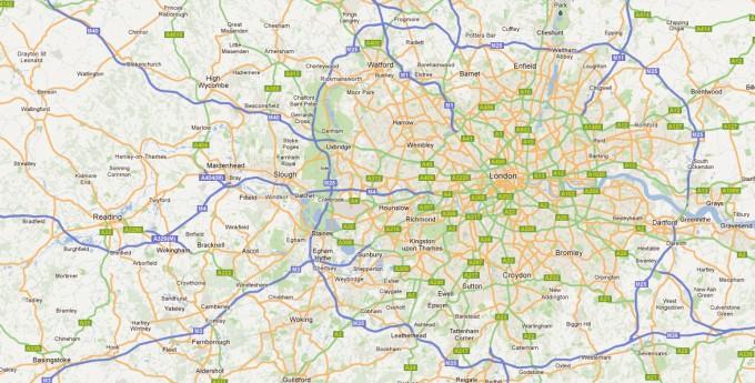 map lineways